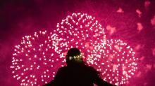PHOTOS: New Year's celebrations light the skies around the world