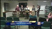 Leahy-Lind honored with state sunshine award