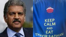 'Keep Calm and Eat Thayir Sadam': Anand Mahindra's T-Shirt is a Weekend Mood