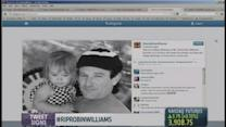 Tributes flow on Twitter for Robin Williams