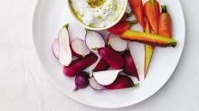 Feta Dip Recipe with Radishes from 'Root to Leaf'