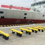 China deploys a fleet of sophisticated submarine drones in the South China Sea