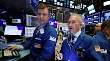 Stocks drop as bond yields extend declines