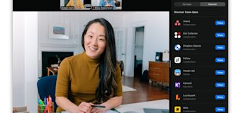 Zoom adds third-party apps to video calls