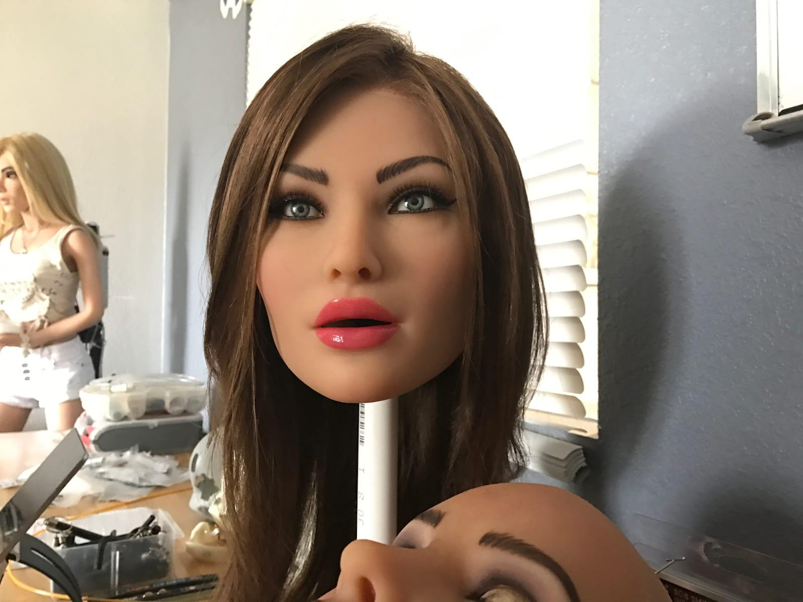 Asian Doll Machine Porn realdoll's first sex robot took me to the uncanny valley