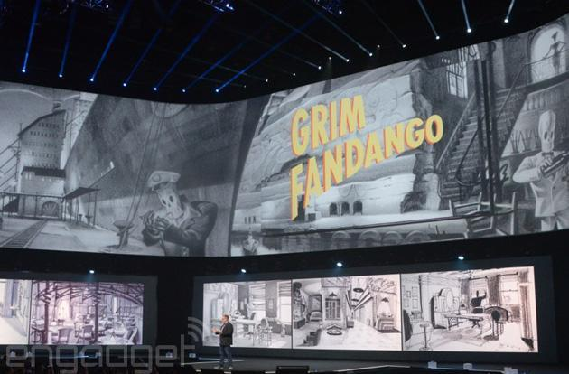 The adventure game classic 'Grim Fandango' is coming to PS4 and PS Vita