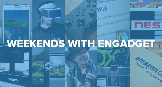 Weekends with Engadget: GS5 and Fire TV reviews, Sony's Yoshida on VR, and more!