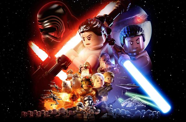 'Star Wars: The Force Awakens' is getting a LEGO video game