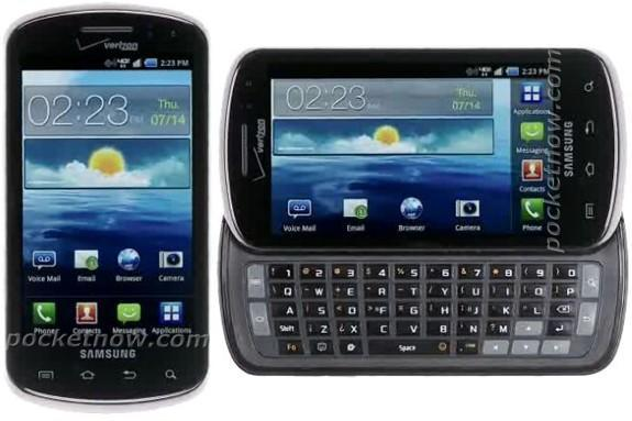 Samsung Stratosphere aims to be Verizon's first QWERTY-packing LTE device