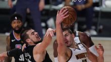 Clippers' Ivica Zubac is a center of attention on a big stage