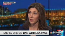 Lisa Page explains the meaning of controversial 'insurance policy' text