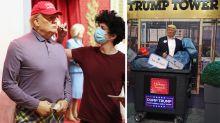 'Dump Trump': Madame Tussauds changes Donald Trump wax figures