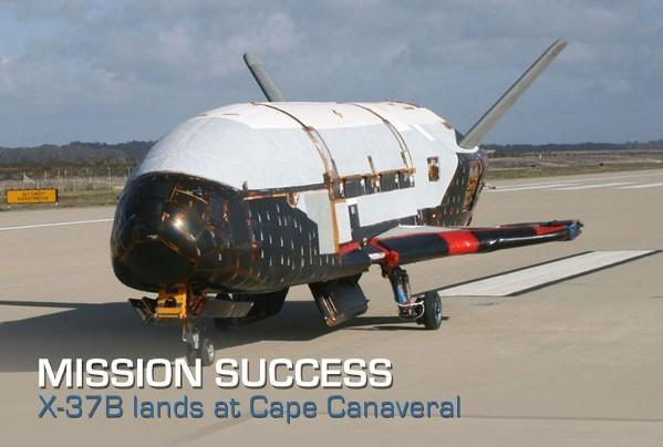 X-37B finally touches down, completing its not-so-secret classified mission (video)