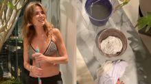 """Luciana Gimenez passa perrengue em apartamento alagado após chuva em SP: """"Que loucura"""""""