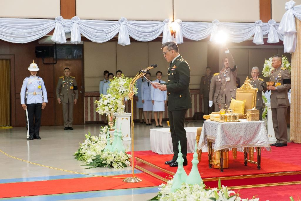 Thai King Maha Vajiralongkorn (pictured), 64, succeeded his father Bhumibol Adulyadej who died in October after a seven-decade reign (AFP Photo/Fuad Waesamae)