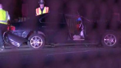 3 hurt in crash on I-95 in Chester, Pa.