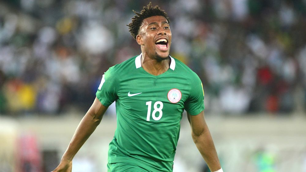 Alex Iwobi reveals why he snubbed England for Nigeria