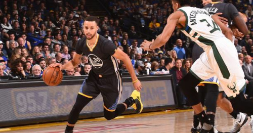 Basket - NBA - Golden State s'éclate contre Milwaukee