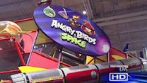 Angry Birds invade Space Center Houston!