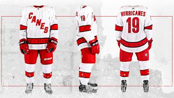 Hurricanes will have new sweaters on the road