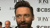 Hugh Jackman, NPH Walk Tonys Red Carpet