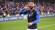 Foot - Bleus - Équipe de France: les 99sélections d'Olivier Giroud en chiffres