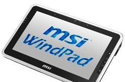 MSI's Windows 7-based WindPad 100W now on sale for $710