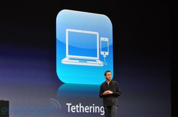 iPhone tethering on AT&T still waiting on better network performance