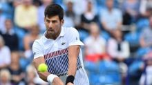 Djokovic frustrated as rain rules at Eastbourne