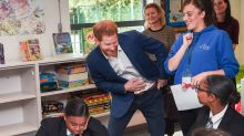 Prince Harry makes first public appearance since lawsuit for World Mental Health Day
