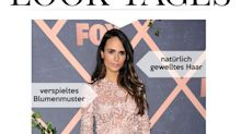 Look des Tages: Jordana Brewster strahlt in transparentem Spitzenkleid