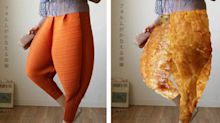 Would you wear these Japanese 'fried chicken' pants?