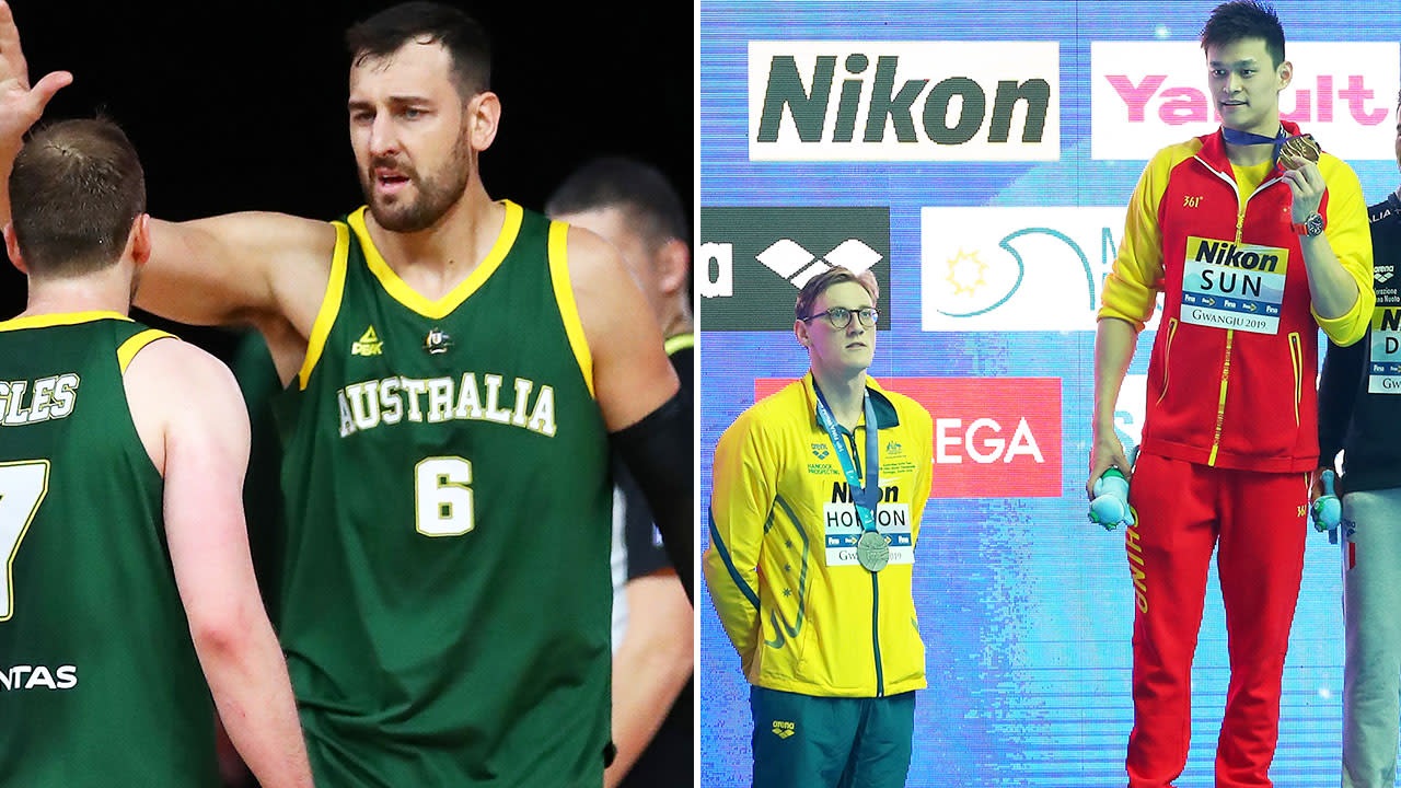 Andrew Bogut booed in extraordinary twist to Sun Yang scandal
