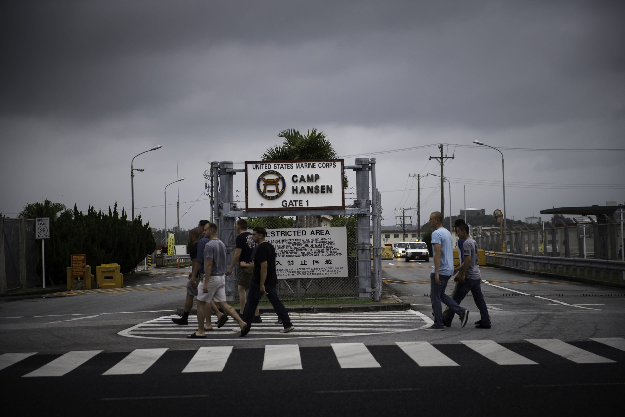 Japanese governor demands U.S. military meeting after coronavirus outbreak