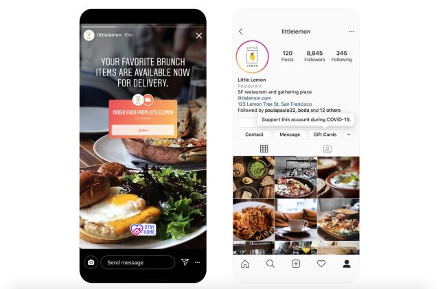 Instagram is helping restaurants by making food pics shoppable