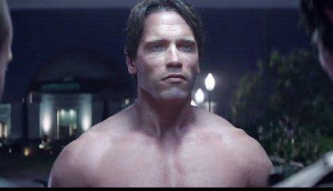 Arnold schwarzenegger nude