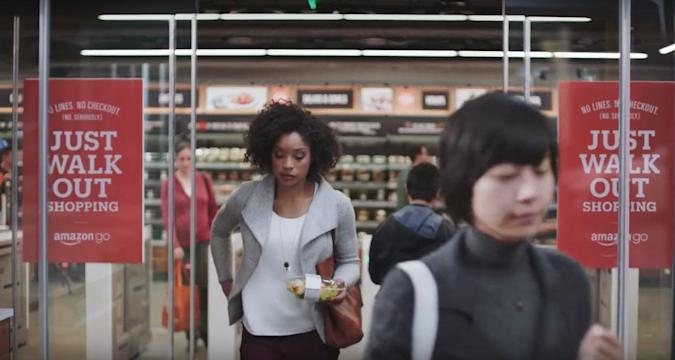 Amazon Go is a grocery store with no checkout lines