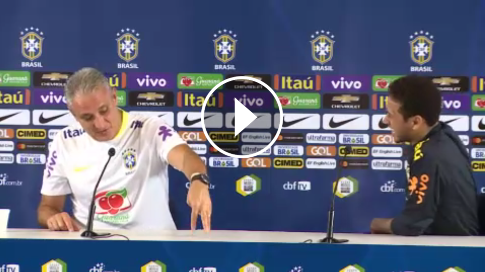 VÍDEO: Tite explica... ¡cómo para a Neymar!