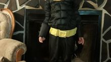 Police captain buys new Halloween costume after boy loses his in RV fire: 'We need all the little Batmans we can get'