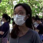 Long queues in Hong Kong's 'litmus test' primaries