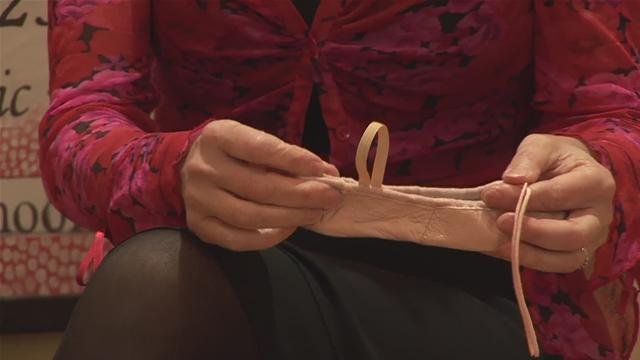 How To Attach Elastic To Ballet Shoes
