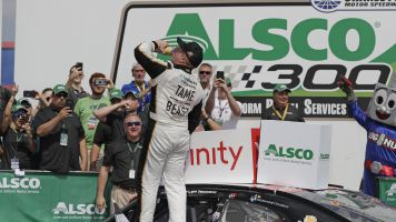 Tyler Reddick powers to Xfinity race victory at Charlotte