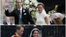 Pippa vs. Kate: comparamos las bodas de las hermanas Middleton