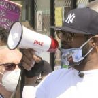 George Floyd's Brother Holds Vigil, Calls for Peace