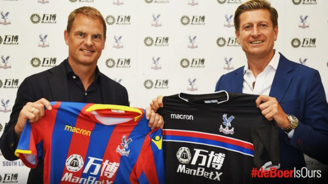 Crystal Palace announce de Boer as manager