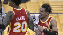 Young scores 32 as Hawks rally from 19 down to beat Magic