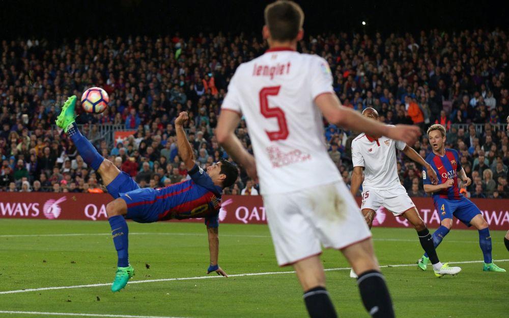 Suarez scored a brilliant opening goal - REUTERS