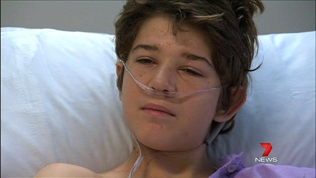 Teen's hands blown apart by bomb