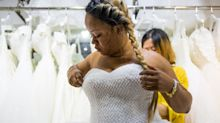 Brides can now shop for their wedding dresses online