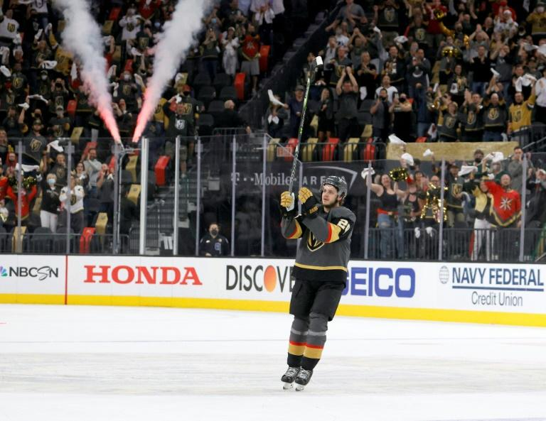 Sweden's Janmark scores hat-trick as Vegas advances in NHL playoffs